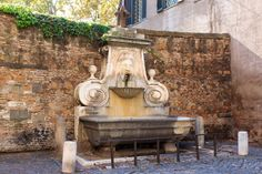 Mascherone di via Giulia (Fountain of the Mask)