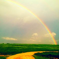 Elgin, Texas is a beautiful place! Biggest and Best Rainbows Ever!!!!!