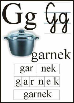 Polish Alphabet, Learn Polish, Preschool Worksheets, Montessori, Teaching, Education, Speech Language Therapy, Kids Learning, Deutsch