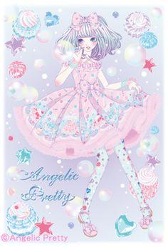 angelic pretty illustrations - Google Search