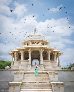 We bet you haven't seen a cremation ground as beautiful as this: Ahar Cenotaphs, Udaipur! And as we say India never disappoints you! Namaste India, Amazing India, Visit India, Beautiful Sites, Beautiful Places, India Tour, Solo Travel, Travel Trip, Udaipur