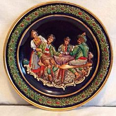 German plate decór Made from Germany wall decor, you can hang it on your wall, these will go great with your collections.  Thanks for looking and check out my other items for sale. Other