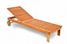Sonnenliege Gartenliege Liege Liegestuhl Relaxliege Eukalyptus kaufen
