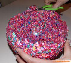 Make a Confetti Bowl in Three Easy Steps Fun Diy Crafts fun crafts diy balloon bowls Diy Confetti, Paper Confetti, Confetti Balloons, Fun Crafts For Girls, Fun Diy Crafts, Teen Crafts, Peppa E George, Cadeau Parents, Mod Podge Crafts
