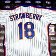 Darryl Strawberry Autographed/Hand Signed Jersey (New York Mets) inscribed 86 WS Champs (JSA Authent by Hall of Fame Memorabilia. $248.95. Darryl Strawberry autographed Jersey (New York Mets) inscribed 86 WS Champs (JSA Authenticated Certified). Signed items come fully certified with Certificate of Authenticity and tamper-evident hologram.