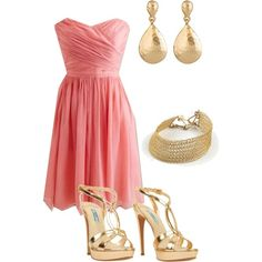 Caitlin, if only I knew my stomach would still be flat......Bridesmaid 3, created by rebeccadg on Polyvore