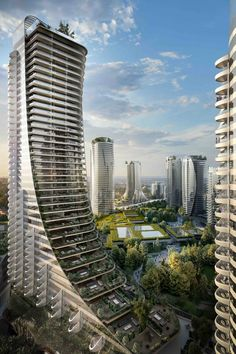 hotel arquitectura Gallery of Henriquez Partners Designs Tapered Towers for Vancouver - 5 Futuristic Architecture, Amazing Architecture, Architecture Design, Vancouver Architecture, Chinese Architecture, Architecture Office, Classical Architecture, Landscape Architecture, Future Buildings
