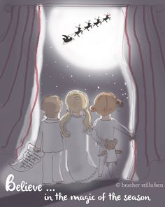 and to all a good night! - happy Christmas... - Rose Hill Designs by Heather Stillufsen
