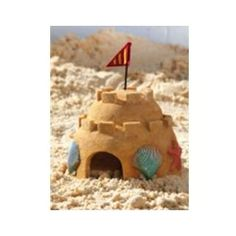 Toad House Sand Castle for the sand box or garden decor