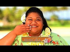 Hawaiian Word of the Week: mino'aka  smile