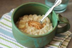 Classic Banana Oatmeal with Peanut Butter