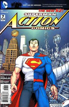 Action Comics #7- Alternate Comic Book Cover ®
