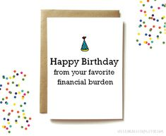 Excited To Share The Latest Addition My Etsy Shop Funny Birthday Card For