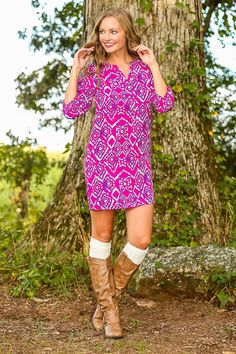 EVERLY:Southern Traditions Tunic -