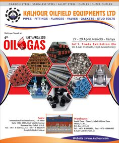 KALHOUR TRADING CO LTD at the 4th OIL & GAS AFRICA 2015
