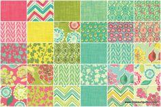 Spring House Charm Pack - Stephanie Ryan - Moda Fabrics $8.95
