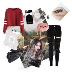 """outfit"" by nagyanita on Polyvore featuring River Island, NIKE, Casetify and Olivia Burton"