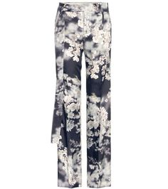 Calvin Klein Collection Gallart Printed Trousers For Spring-Summer 2017