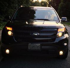 2014 ford explorer sport metallic black