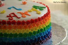 A cake in colors is just too too too good #customizedbirthdaycake #MiaTorteBakery #Hyderabad