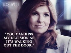 You can kiss my decision as its walking out the door #Nashville #RaynaJaymes                                                                                                                                                                                 More