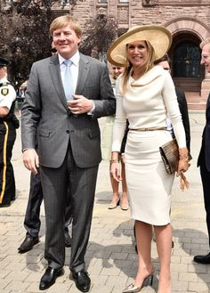 MyRoyals: State Visit to Canada, May 29, 2015-King Willem-Alexander and Queen Maxima