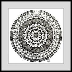 #mandala #circle #Kreis #flowers #creative #kreativ #zentangle #zendoodle #pattern