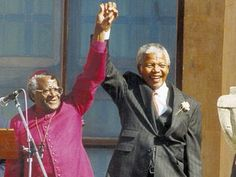 Former president Nelson Mandela's presence has left the world and South Africa a little better, writes Archbishop Emeritus Desmond Tutu.