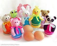 114 Egg Cozy Animals Knitting Pattern