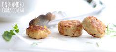 Chicken Halloumi & Quinoa Balls - One Handed Cooks
