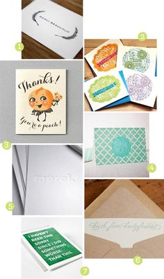 If you've completely abandoned handwritten cards, thank again. Say more and stay human. www.designmom.com