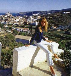 Francoise Hardy holiday style