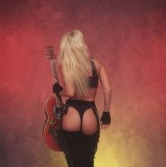 Lita Ford. Babygirl, you can KISS ME DEADLY anytime you want cause sometimes you just GOTTA LET GO. So DRAG ME BACK TO THE CAVE and STAY WITH ME BABY cause we'll be DANCIN' ON EDGE!