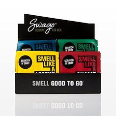 Introducing SWAGO Cologne Wipes for Men OntheGo 20 Count Variety Pack. Get Your Ladies Products Here and follow us for more updates!