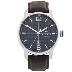Relógio Tommy Hilfiger Masculino Couro Marrom - 1791238