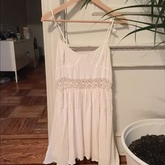Lowered For love and lemon mini white dress Perfect for summer. Dry cleaned. No tags but almost new. For Love and Lemons Dresses Mini
