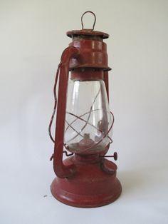 Dietz Style Kerosene Lantern Vintage Railroad Oil by HobbitHouse