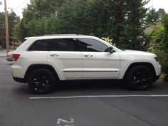 07 jeep grand cherokee white murdered   2012 Stone White Overland Hemi ~ Altitude grill and brow ~ SRT8 reps ...