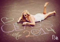 senior 2014 class of 2014 chalk