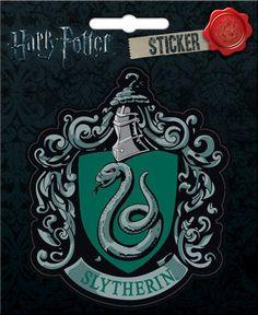 Harry Potter Slytherin Crest Bumper Sticker Decal