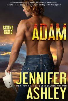 Adam by Jennifer Ashley Cowboys. A bunch of brothers that are cowboys. Oh, and a second chance romance. Lovely. But really, cowboys....