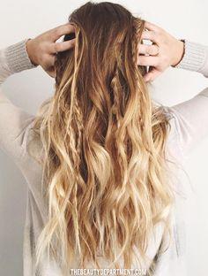 beauty dept hair tutorial boho braid