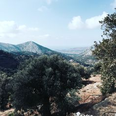 Naxos mountain view