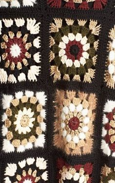 Ideas For Crochet Granny Square Vest Blankets Cardigan Au Crochet, Gilet Crochet, Crochet Coat, Crochet Motifs, Crochet Jacket, Crochet Squares, Crochet Shawl, Crochet Stitches, Crochet Patterns