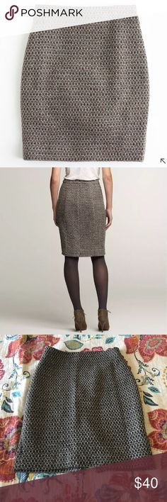 J Crew Factory Timber Tweed Pencil Skirt Sz 4 In great condition. No issues. Beautiful Skirt. I work from home so I don't need work clothes as much. I really want to try to downsize. J. Crew Factory Skirts Pencil