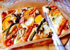 秋野菜のフォカッチャ‥ホーローバット焼成 by ayukana at 2014-10-25|レシピとお料理のSnapDish