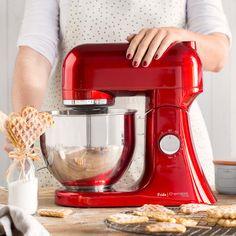 Küchenmaschine Frida rot