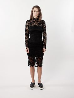 Ganni PS17 Flynn Lace Dress