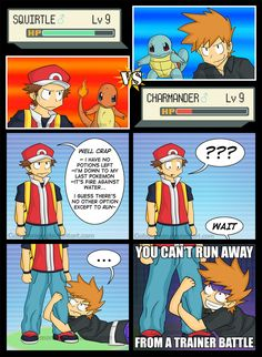 This is the reality of trainer battles.