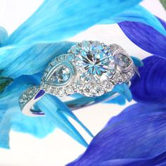 1.97ct Round Brilliant Cut Diamond Engagement Anniversary Ring